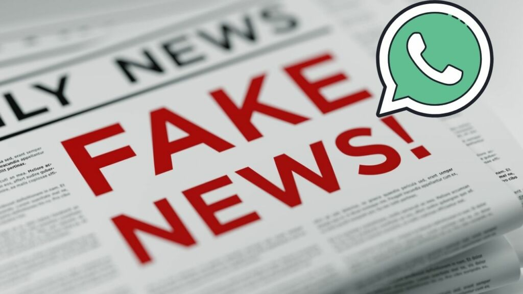 Fake whatsapp account for fake news
