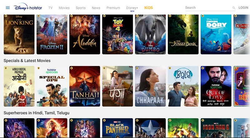 Hotstar download for PC without Bluestacks