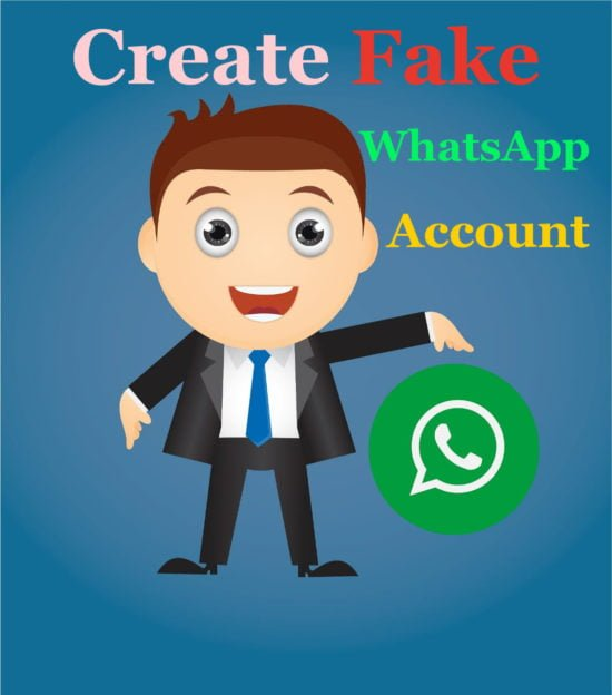 fake WhatsApp with fake us number