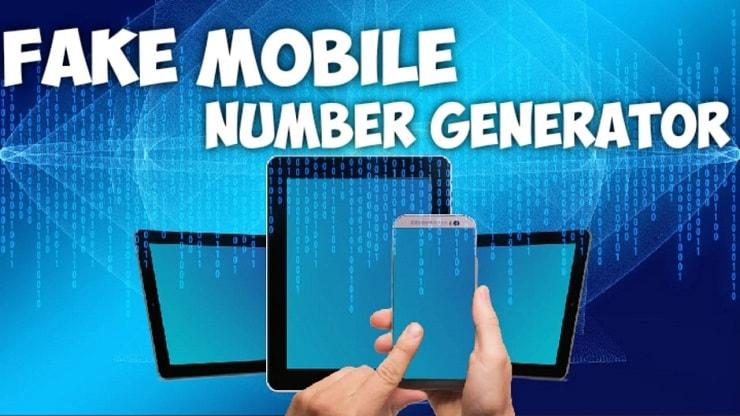 fake mobile number generator