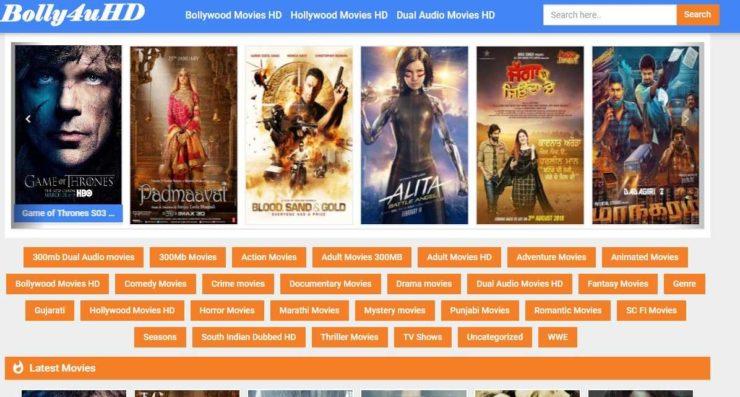 Bolly4uHD watch Hindi movies online free