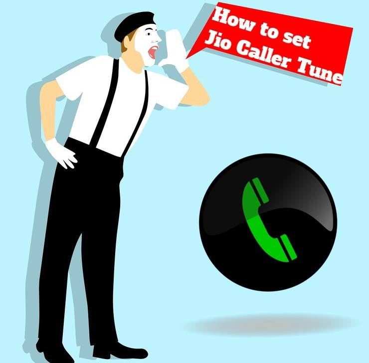 How to set caller tune on Jio