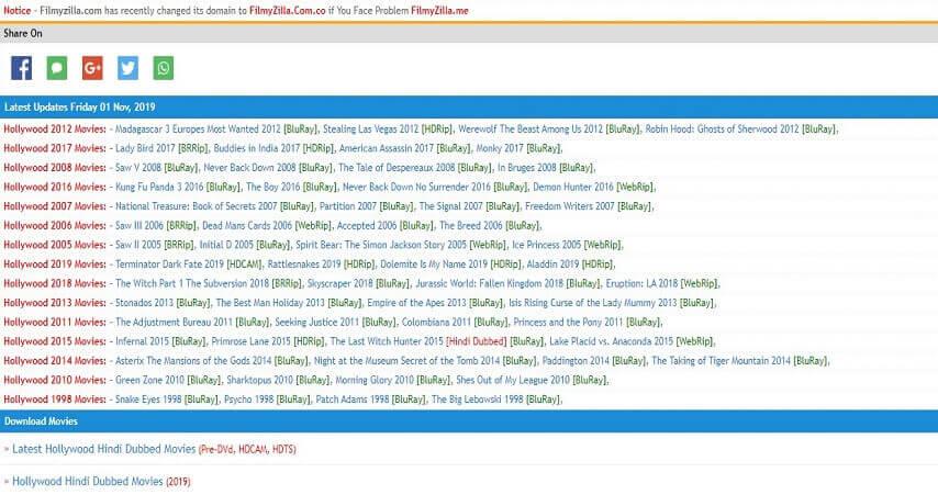 Best movie download site_filmyzilla