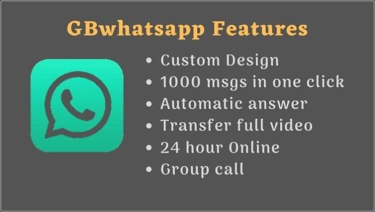 GBWhatsapp app download for android