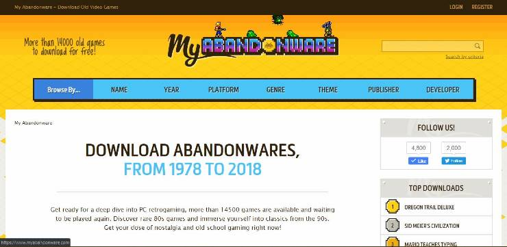 Best sites for PC Games download