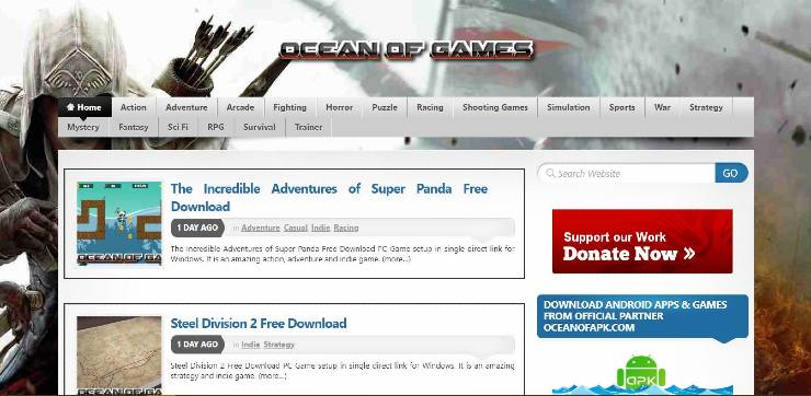 top sites to download pc games