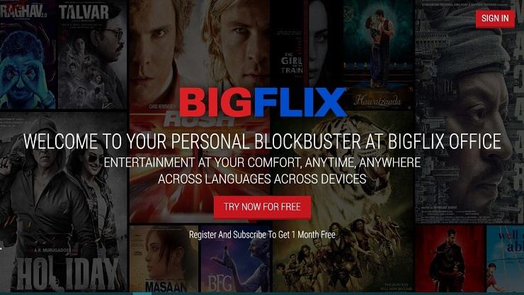 watch online stream on BigFlix