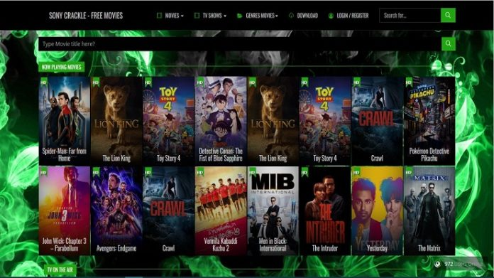 watch online stream on Sony Crackle