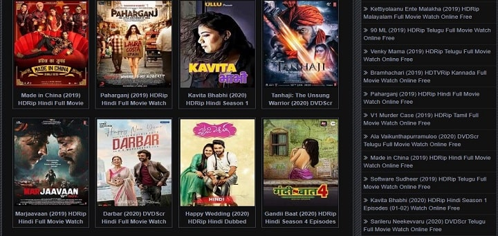Movierulz pz telugu movie downloading site on mobile
