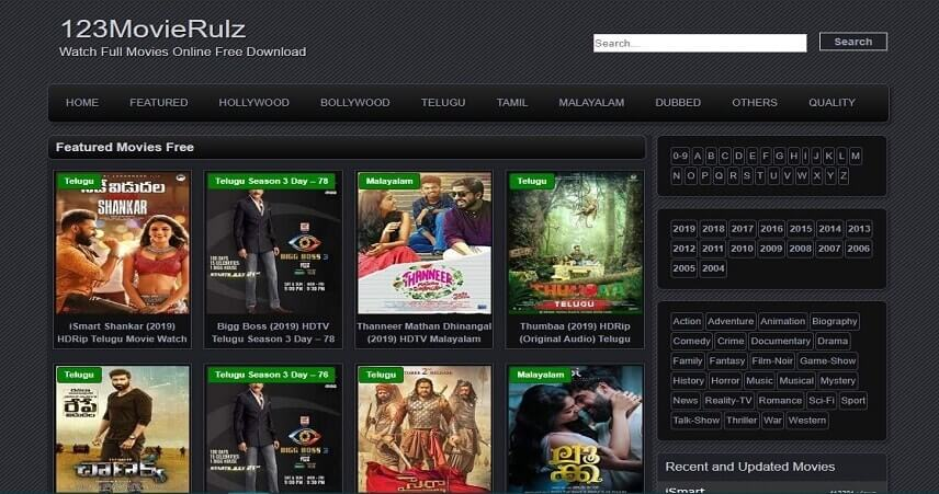 Movierulz Vip or Vpn Download New telugu movies