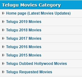 new Telugu Movies download category