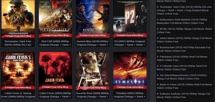 embed videos Movierulz ds website