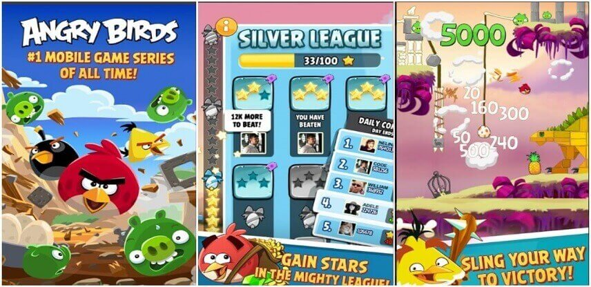Angry Birds girls android game 2019