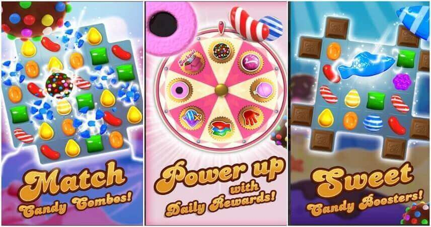 Interesting game for girls_ Candy Crush Saga