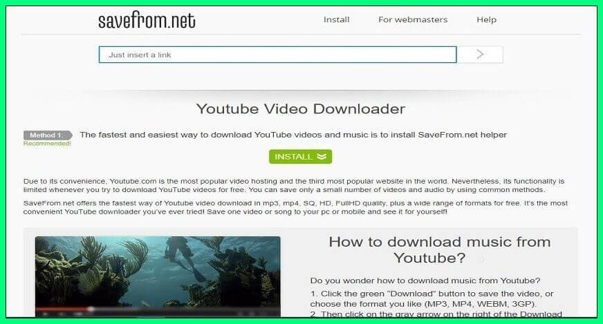 Savefromnet_Youtube Video Downloader