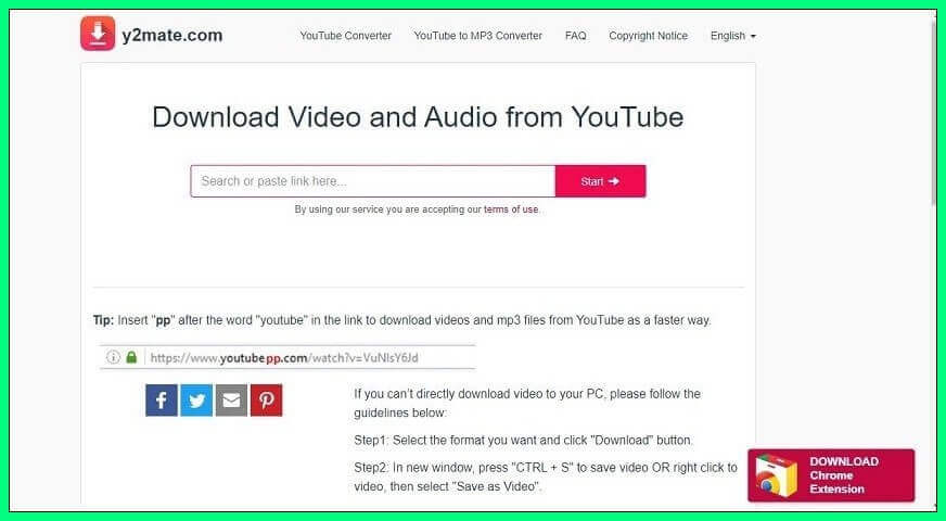 Y2mate is snother Youtube Video Downloader