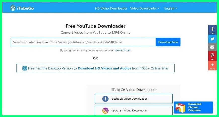 Keepvid.pro YouTube Video downloader