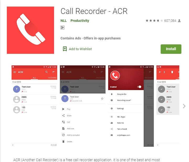 ACR call recorder se call record kaise kare