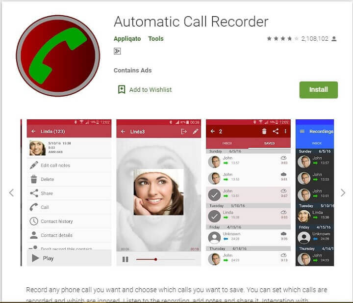 Automatic Call Recorder se jio phone me call record kare