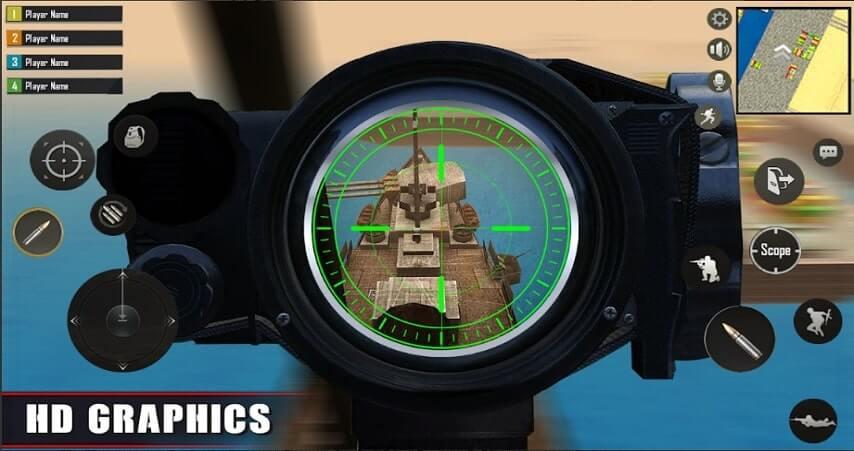 Player Battleground Survival