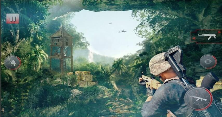 Sniper offline shooting game