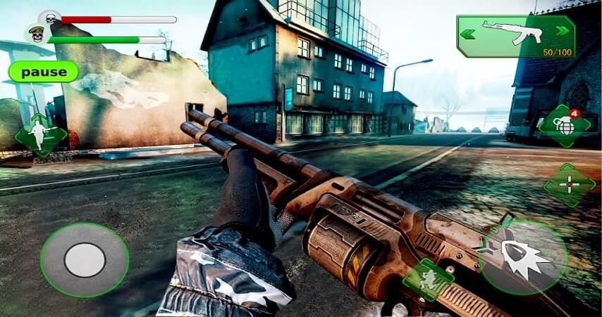 Death Deal Zombie Shooting Game offline