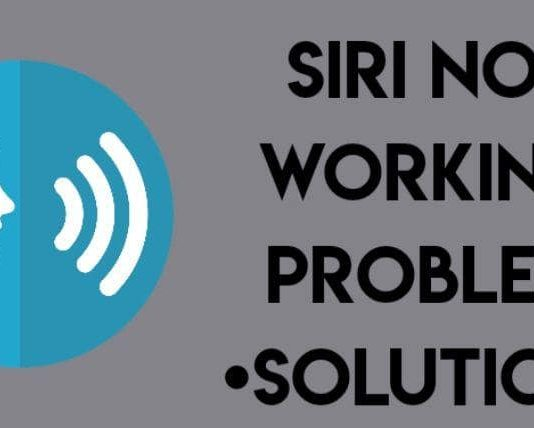 iOS 13 Siri not working problem solution