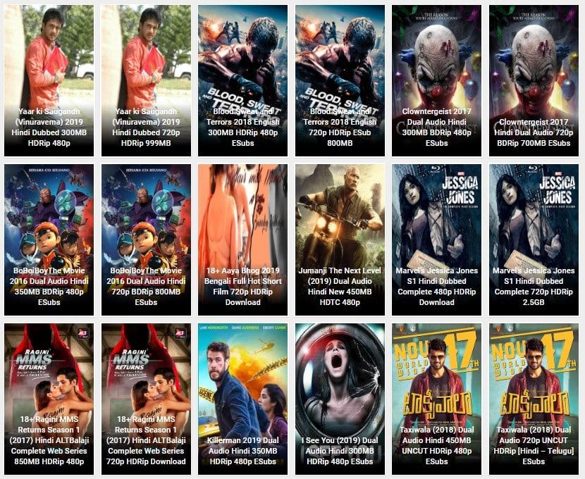 300MB Bollywood, Hollywood, Tamil, Hindi Movies