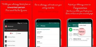 Whatscan for whatsapp hide your profile