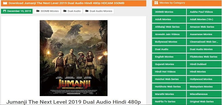 jumanji the next level download 9xmovies