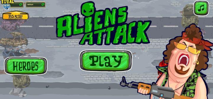 Alien Attack 1 mb games