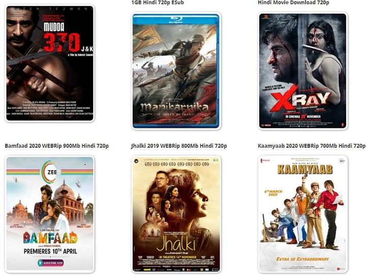 Bolly4U Bollywood Movies Download 2020