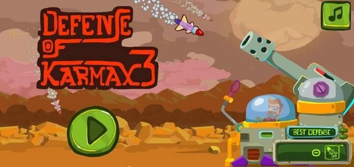 Defense Karmax 3 latest 1mb game