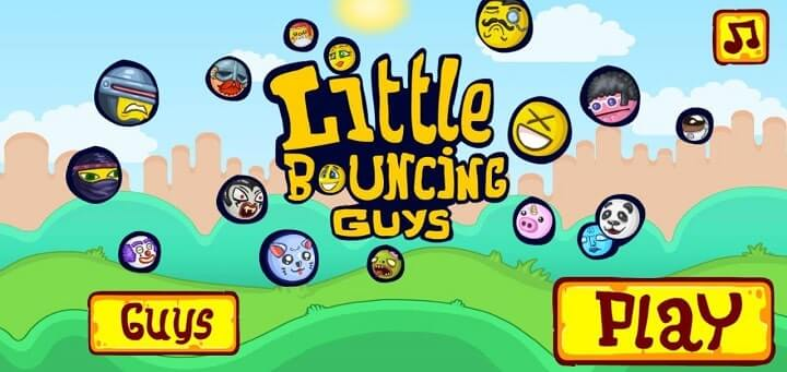 Little Bouncy Guys 1 mb games for Amdroid