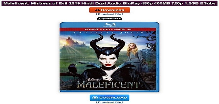 Maleficent Hollywood dubbed movies 720p download