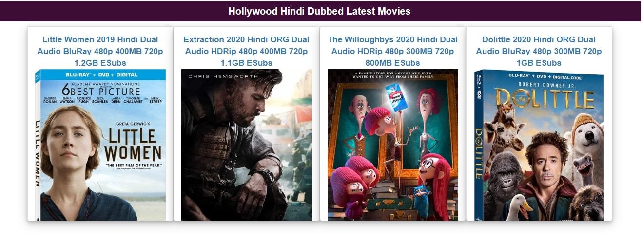 Movie4me New Hollywood Movies