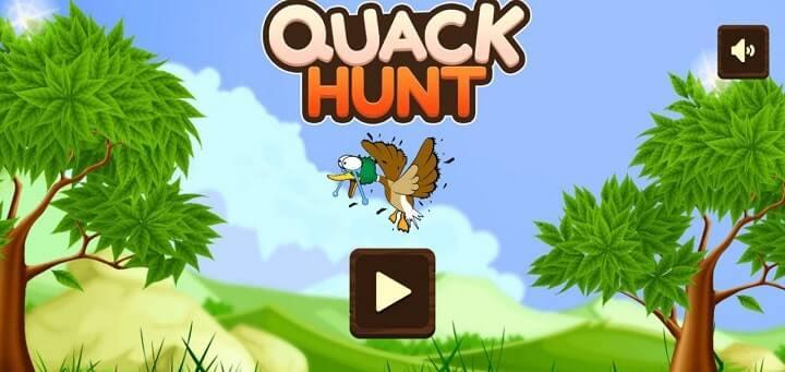 Best game under 1mb Quack Hunt