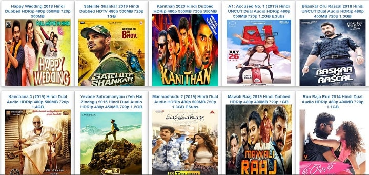 South movie download in Hindi dubbed