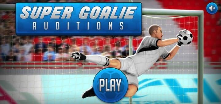 Super Goalie Android 1 mb game
