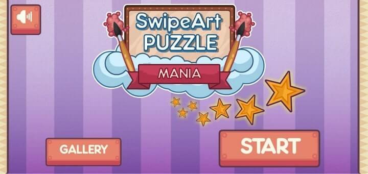 Swipe Art Puzzle 1mb games