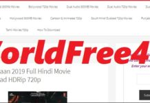 Worldfree4u 700mb Hollywood movies in HIndi 720p