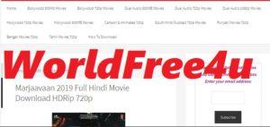 Worldfree4u 300mb Hollywood movies in HIndi 720p