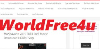 Worldfree4u 300mb Hollywood movies in HIndi 720p