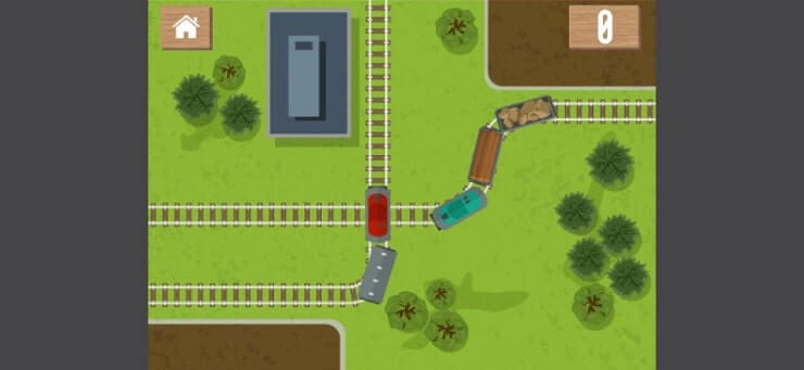 Locomotive Train game 1mb Android