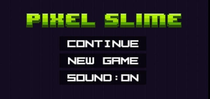 Pixel Slime Android Game very less mb