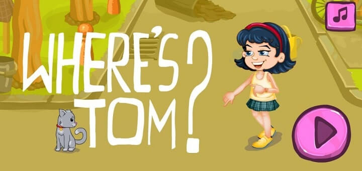 Where's Tom less mb game android