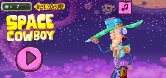 Space Cowboy Best Action 1mb game