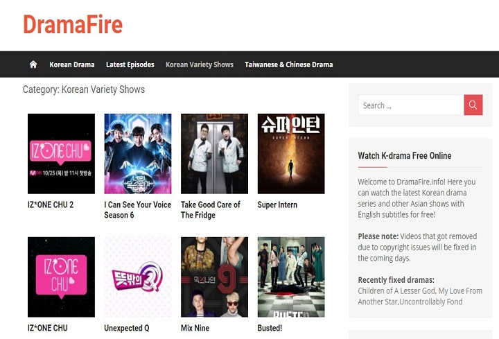 Dramafire watch and download Korean Movies