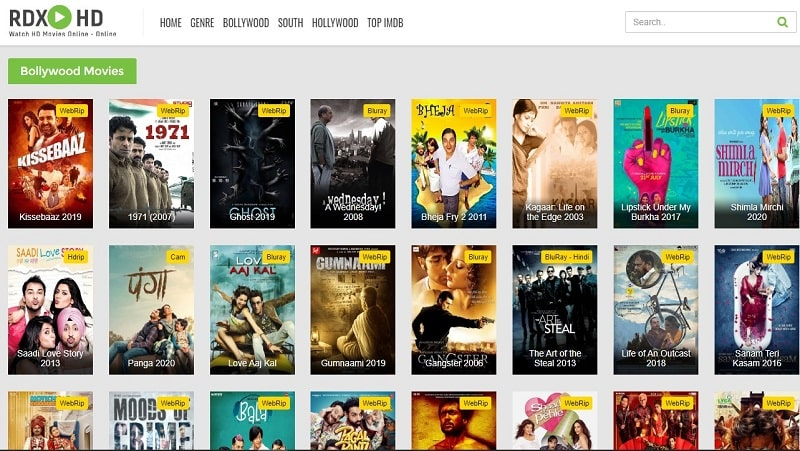 Watch Online RdxHD Bollywood Movies Free