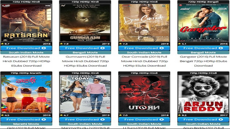 South Dubbed Hindi Movies Download